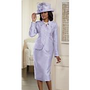 Herlinda Hat and Highland Skirt Suit