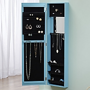 Colorful Jewelry Armoire