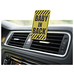 baby in back auto vent clip 2 pack