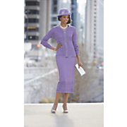 Liliette Hat and Skirt Suit