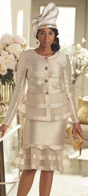 Lacy Hat and Luciana Skirt Suit