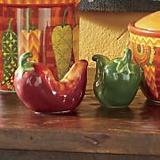 fiesta kitchen 3 d salt and pepper shaker