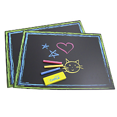 chalkboard placemats 2 pack