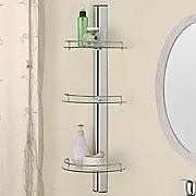 3 tier bern glass shelf