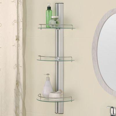 3-Tier Bern Glass Shelf