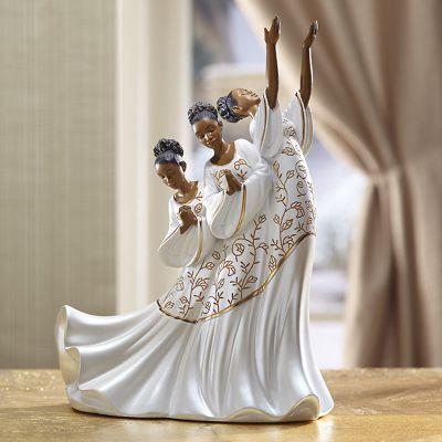 Giving Praise Figurine