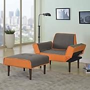 adjustable chair and ottoman