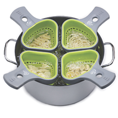 portion control pasta basket