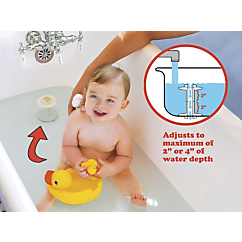 bath water level safety device