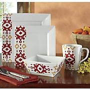 16-Piece Zahara Dinnerware Set