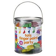 tots finger paint party 15 piece