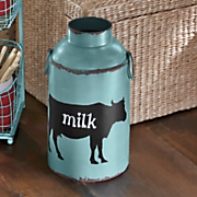 vintage style milk can