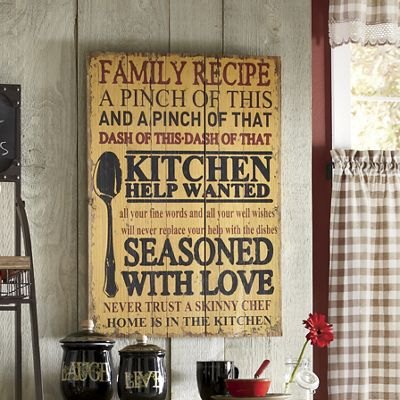 Seasoned with Love Wall Art