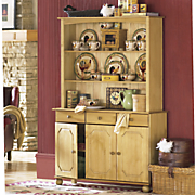 grand impression display hutch and sideboard