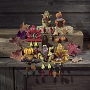 6 piece harvest shelf sitter set