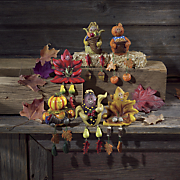 6 piece harvest shelf sitter set