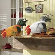rooster shelf sitter