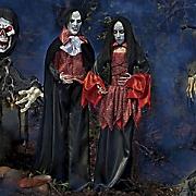 dead vampire bride and groom