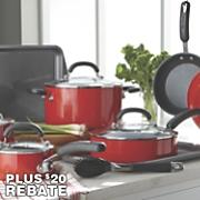 Classic 13-Piece Aluminum Cookware Set by Circulon
