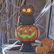 Halloween Pumpkin Owl LED