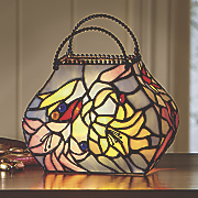 leonora stained glass purse