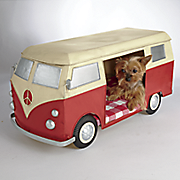 peace van dog bed