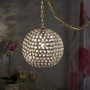 Gigi Gold Swag Lamp