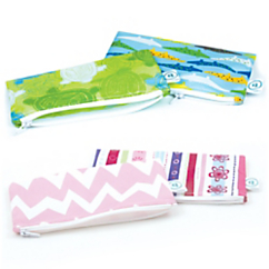 bumkins reusable small snack bags 2 pack