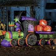 witch train inflatable