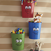 3 piece funny face bucket set