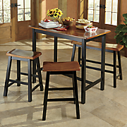 Solid Hardwood 4-Piece Dining Set