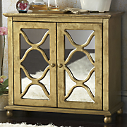 amador gold mirrored cabinet