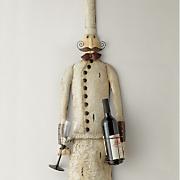 skinny chef wine holder