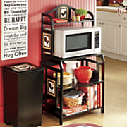 rooster microwave cart 154