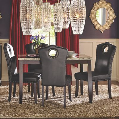 Marble Dining Table From Midnight Velvet Vi722843