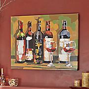 Adega Wine Oil Painting