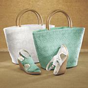 Destinee Crochet Bag and Wedge