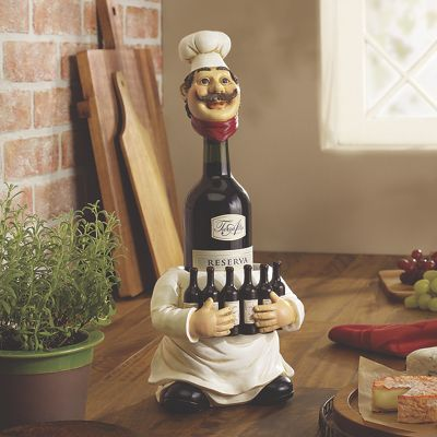 Long-Neck Chef Bottle Holder