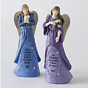 Faith Gem Angel Figurine
