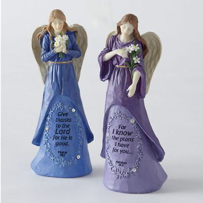 Faith Gem Angel Figurine