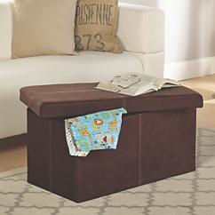 folding storage bench
