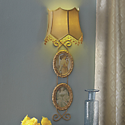 victorian photo wall sconce
