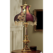 victorian rose table lamp