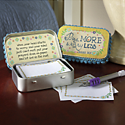 worry less prayer box