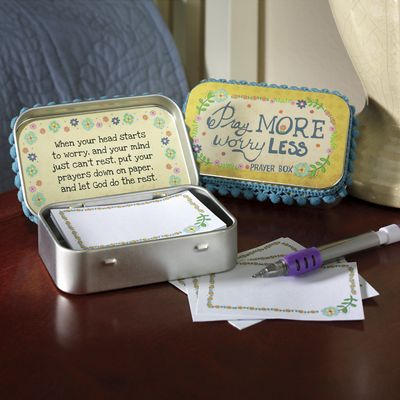 Worry Less Prayer Box