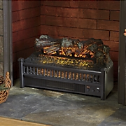 electric log set heater and fireplace insert