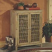 Crockett Wood Cabinet