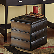 Stacked Books Stool