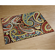 paisley indoor outdoor rug 8