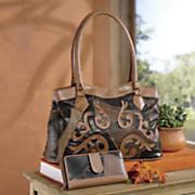 winslow bag and wallet set